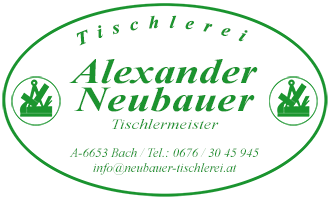 Logo of Alexander Neubauer - TISCHLEREI