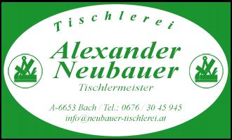 Alexander Neubauer - TISCHLEREI
